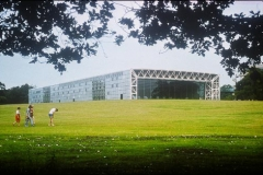 The Sainsbury Centre for Visual Arts, University of East Anglia, Norfolk, Foster Associates.