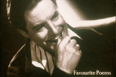 Robert Donat, the cover of one of his two poetry LP's, both available on audio cassette
